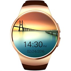 Смарт-часы Smart Watch KW18 Gold